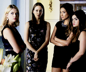 pll and girls image