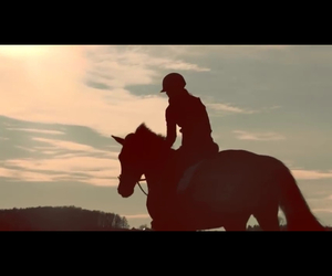 equestrian, friendship, and horse image