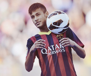neymar, football, and Barcelona image
