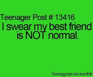 best friend, teenager post, and funny image