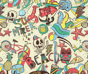 colors, skulls, and design image
