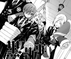 anime, black butler, and kuroshitsuji image