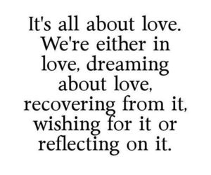 love, quote, and Dream image