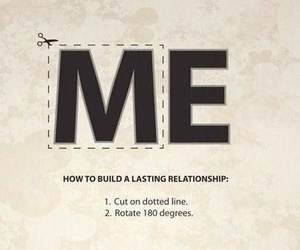 love, me, and Relationship image