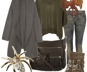 fashion, inspired, and harry potter image