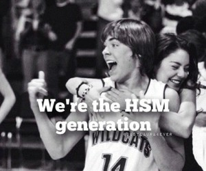 generation, high school musical, and HSM image