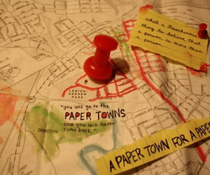 book, paper towns, and john green image
