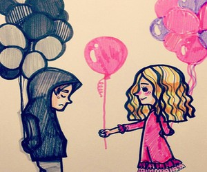 baloons, awwe, and so sweet image