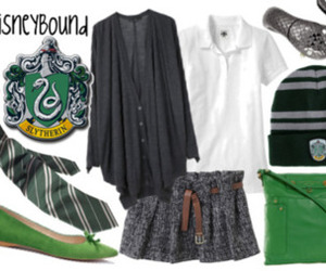 slytherin and disneybound image