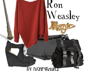 harry potter, ron weasley, and disneybound image