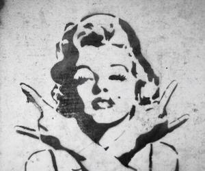 badass, Marilyn Monroe, and rock image