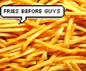 bubble, fries, and funny image