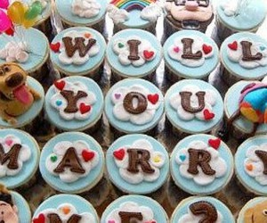 cupcakes, husband, and marry image