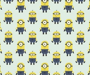 background, minions, and idk image