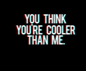 cool, text, and think image