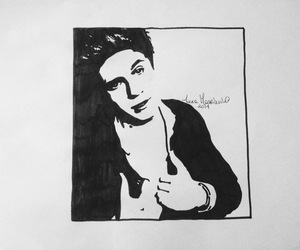 draw, ink, and niall horan image