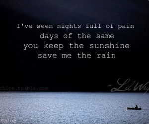 lil wayne, rain, and sunshine image