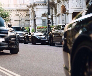 lambo, luxurious, and range rover image