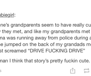 funny, grandparents, and story image