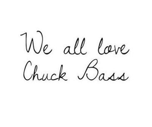 love, chuck bass, and bass image