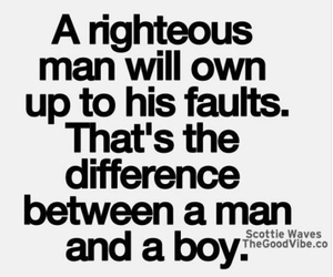 boy, man, and quotes image