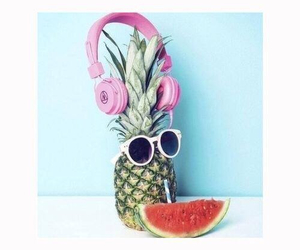 cool, watermelon, and funny image