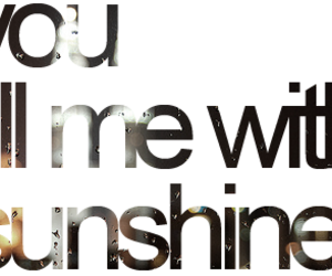 sunshine, love, and text image