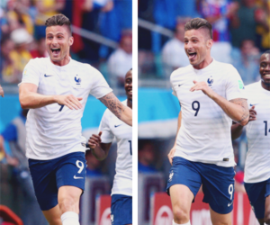 olivier giroud and france image