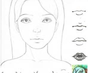 draw, cute, and girl image