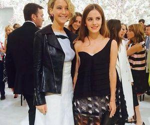 emma watson, katniss everdeen, and Jennifer Lawrence image