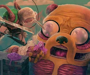 images, adventure time, and attack on titan image