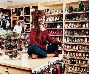 paula abdul, shoes, and closet image