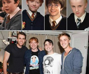 harry potter, ron, and rupert grint image
