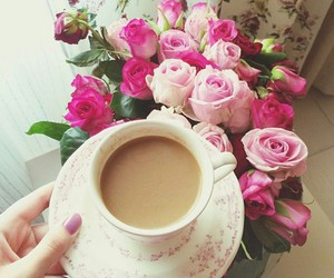 flowers, lovely, and morning image