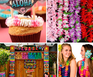 luau hawaii party aloha image