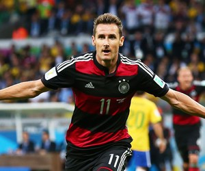 germany, klose, and brazil image