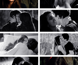 quotes, the vampire diaries, and delena image