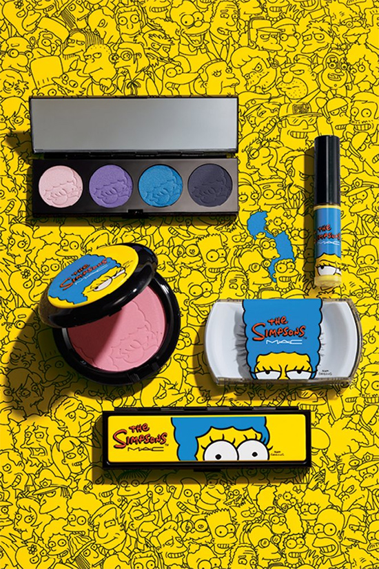 mac, makeup, and simpsons image