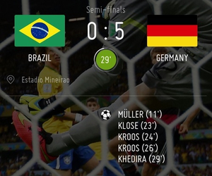 germany, brazil, and world cup image