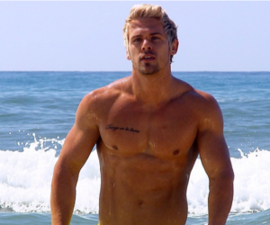 abs, blonde, and dude image