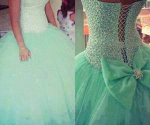 dress, wedding, and my future prom dress dibs image