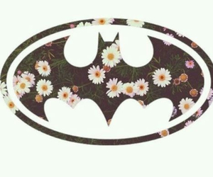 batman and flowers image