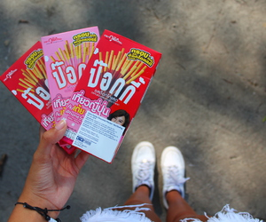 candy, pocky, and summer image