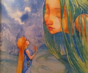 art, fairy, and idk image