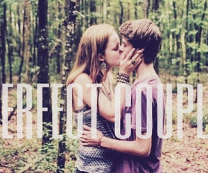 colin ford, couple, and forest image