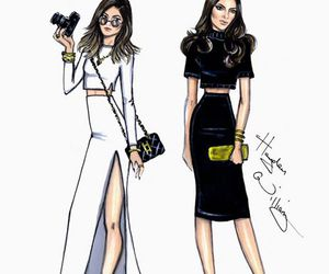 kylie & kendall and by hayden williams image