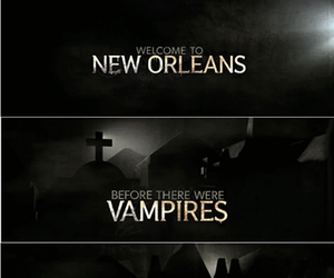 The Originals, vampire, and new orleans image