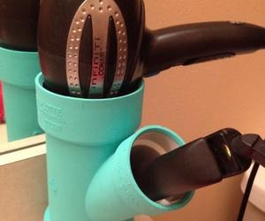 diy, hair, and hair dryer image