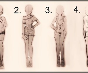 draws, girls, and outfits image