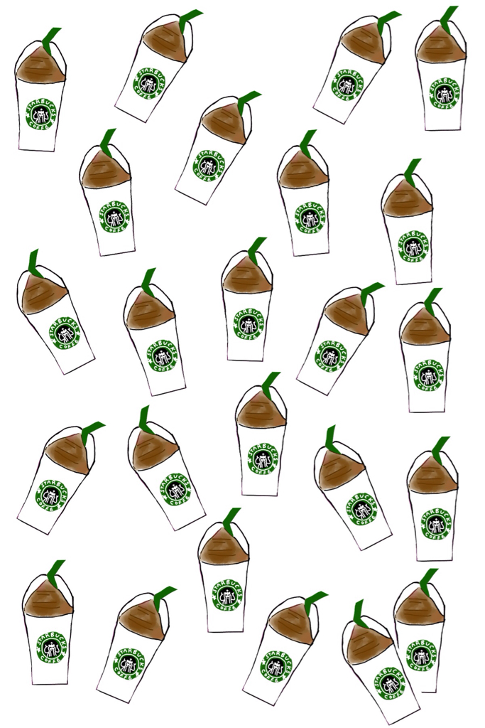 Starbucks Iphone Background Discovered By Natalia